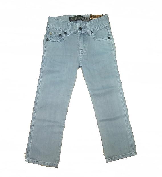 Quiksilver Pantalon Vaquero Azul NIÑO: Amazon.es: Ropa y ...