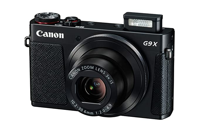 8 opinioni per Canon PowerShot G9 X Fotocamera Compatta, 20.2 Megapixel, Nero