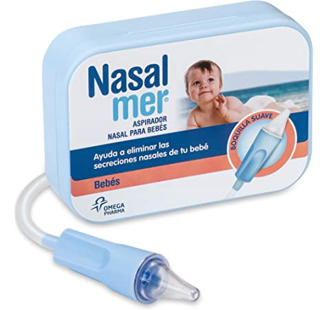 Nasalmer Aspirador Nasal para Bebés - Ideal para quitarle los mocos al bebé antes de ponerlo a dormir: Amazon.es: Salud y cuidado personal