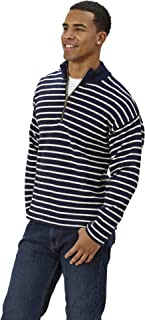 product image for Goodwear Long Sleeve Stripe 1/4 Zip Sweater
