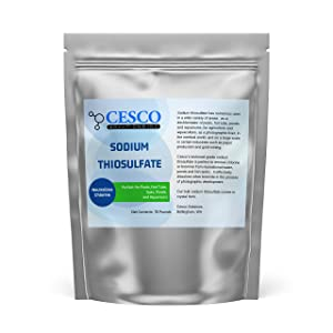Pool Dechlorinator Sodium Thiosulfate Pentahydrate 15 lbs by Cesco Solutions - Premium Chlorine Neutralizer for Pools, Aquarium, Pond - Technical-Grade Chlorine Remover for Hot Tubs - Bulk Package
