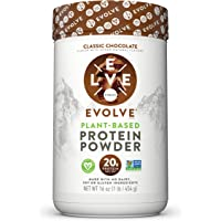 Evolve Protein Powder, Classic Chocolate, 20g Protein, 1 Pound