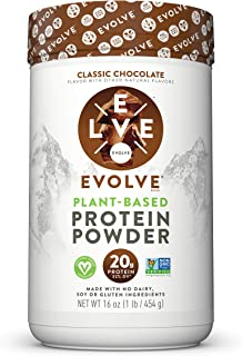 product image for Evolve Protein Powder, Classic Chocolate, 20g Protein, 1 Pound