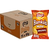 Lay's Hamka's Mini Original Chips, Doos 15 stuks x 80 g