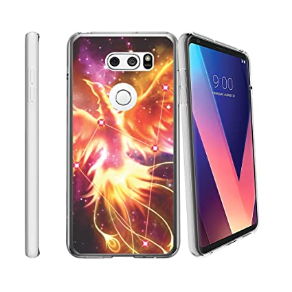 best service be688 50b30 Amazon.com: Clear MINITURTLE Case Compatible with LG V30 / LG V30 ...