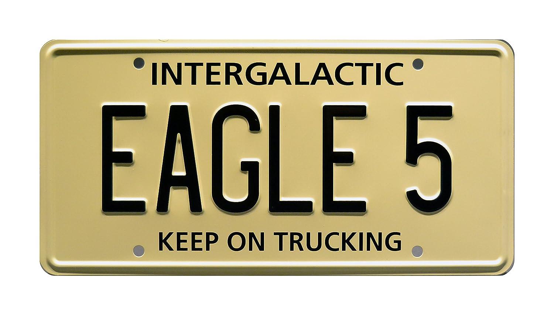 Spaceballs | Mel Brooks | Winnebago | EAGLE 5 | Metal Stamped Vanity Prop License Plate Celebrity Machines EAGLE5