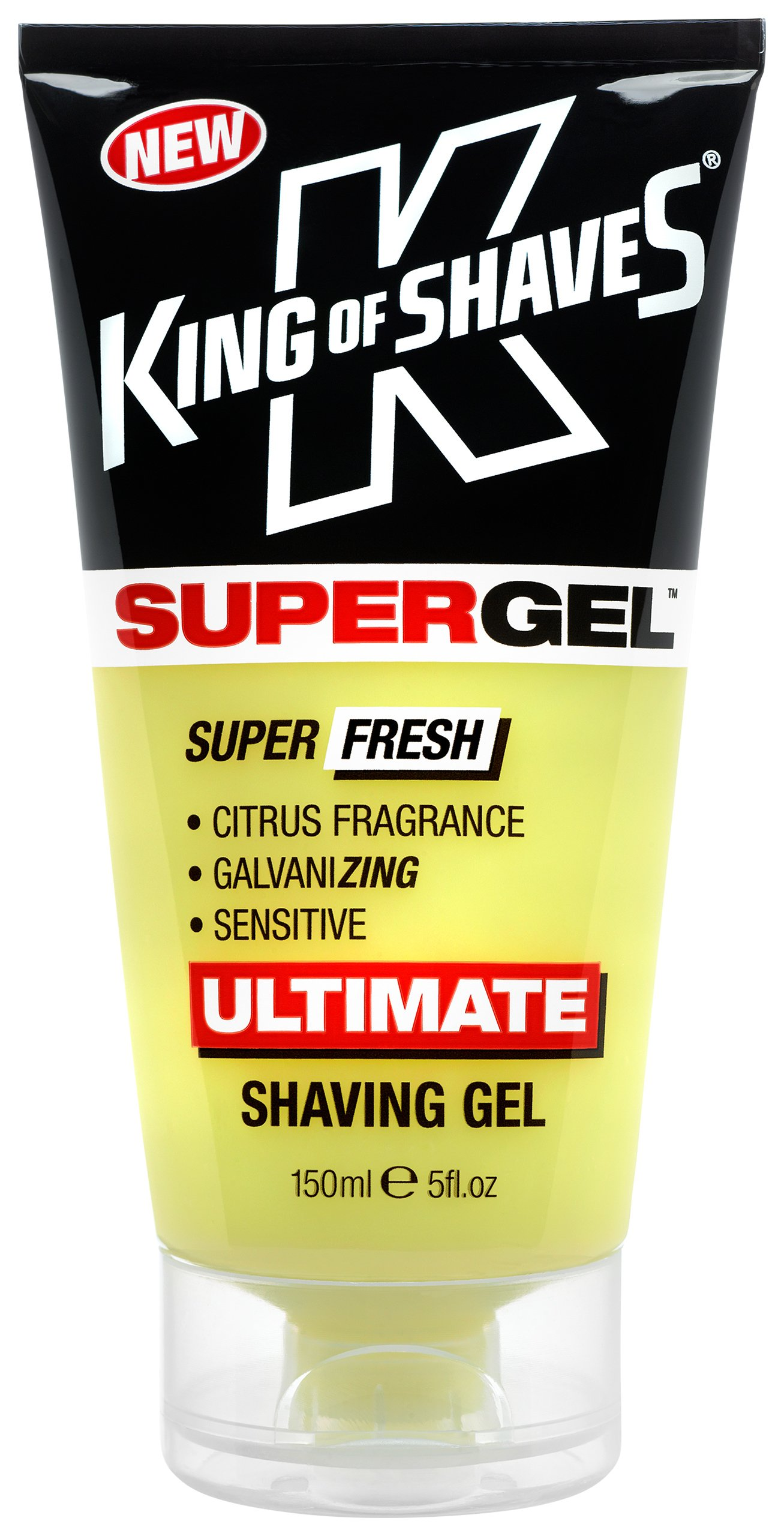 King of Shaves Supergel, Fresh, 5 Ounce