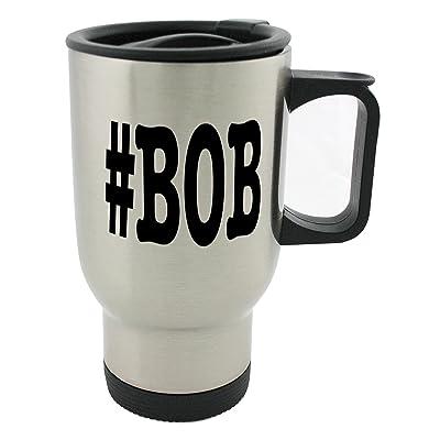 Désignant des villes Bob Surnom Mot-clic Mug 396,9gram en acier inoxydable