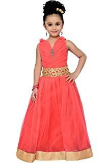 Adiva Girls Indian Party Wear Gown for Kids