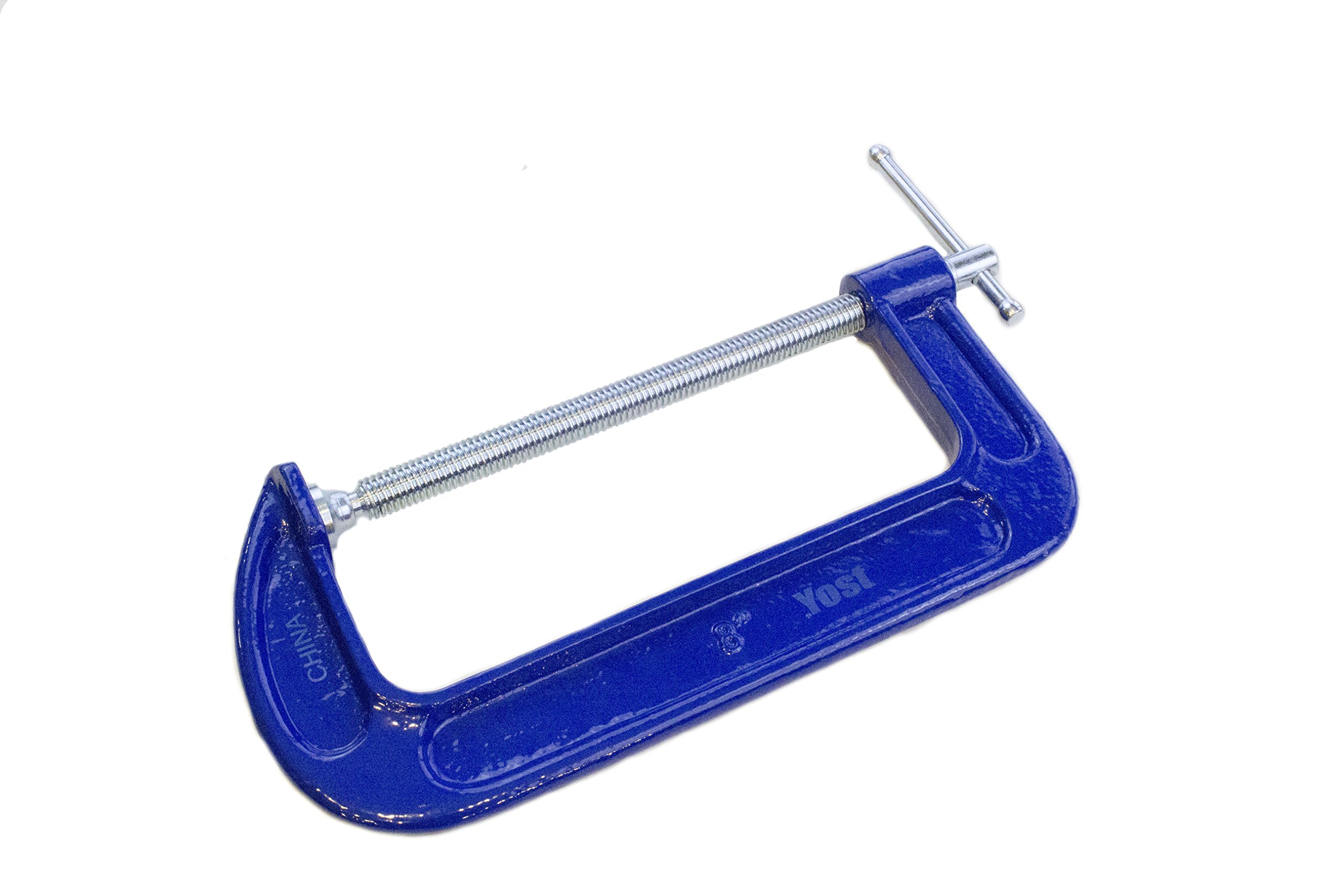 Yost Tools 312-Y 12'' Malleable Iron C-Clamp
