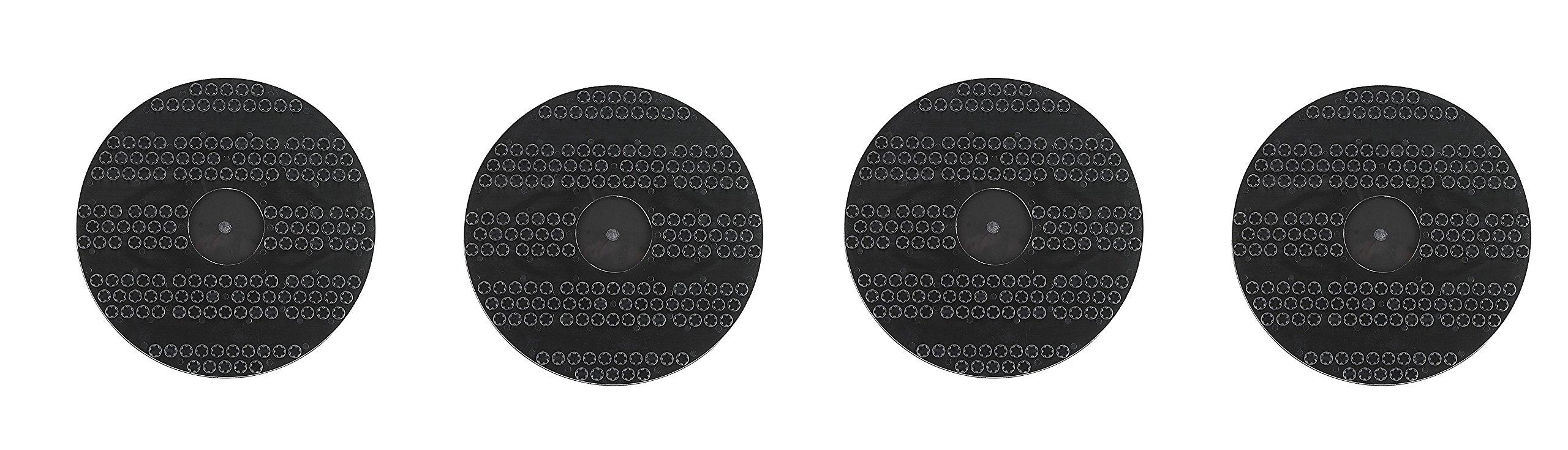 Oreck Commercial 53178-51-0327 Drive Pad Holder, 12'' Diameter, For ORB550MC Orbiter Floor Machine (Pack of 4)