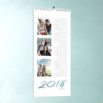 Küchen-Kalender selber basteln, Schwungvolles Jahr, Wandkalender ...