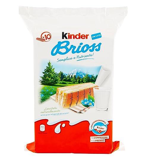 9 opinioni per Kinder Ferrero Brioss- 4 pezzi da 280 g [1120 g]