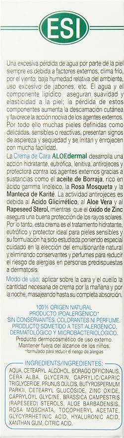 Amazon Com Esi Aloedermal Natural Face Cream Health Personal Care