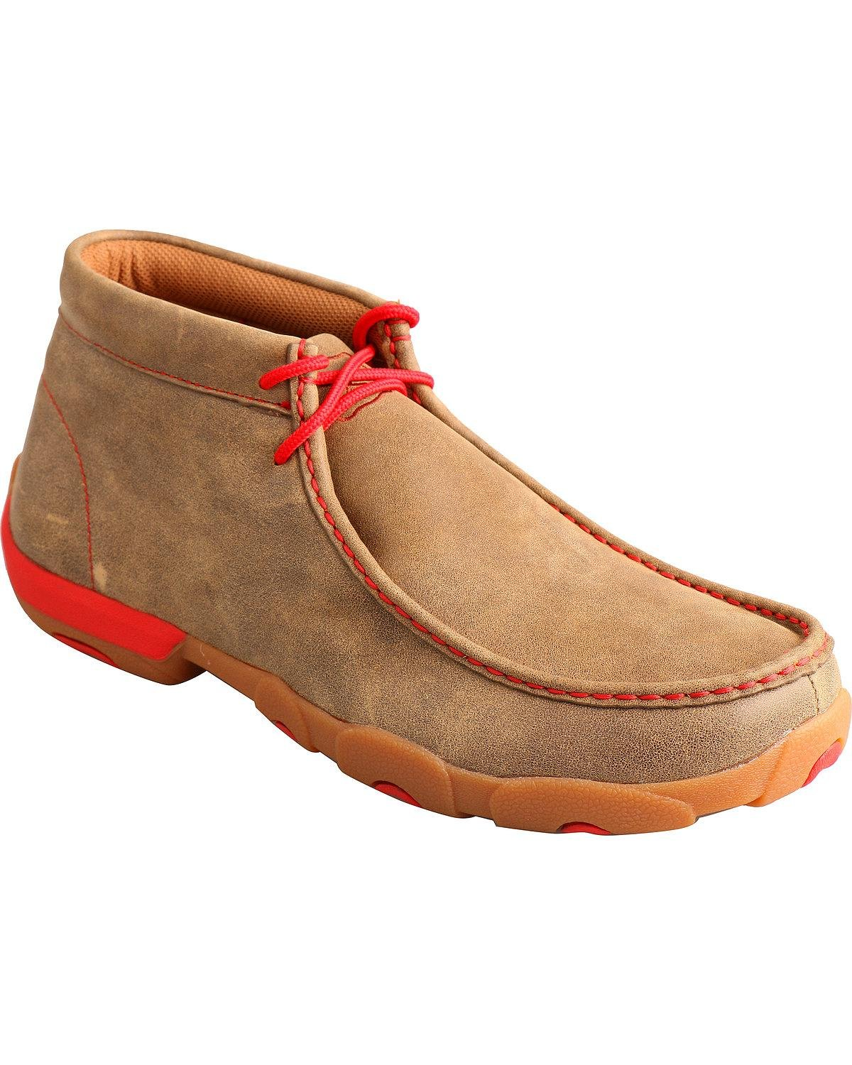 Twisted X Mens Driving Moccasins TWISTED X BOOTS