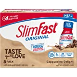 SlimFast Original Cappuccino Delight Shake – Ready to Drink Weight Loss Meal Replacement – 10g of protein – 11 fl. oz…