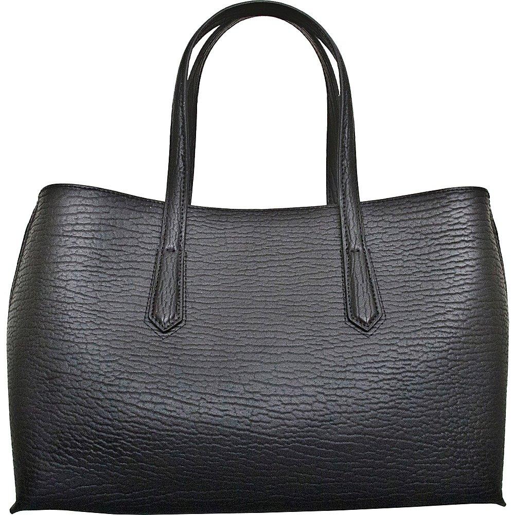 Leatherbay Alia Leatherbay Tote Bag//Black Travel Tote