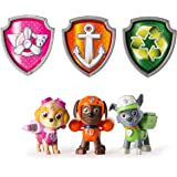 Paw Patrol Action Pack Pups Figure Set, 3pk, Tracker, Apollo, Marshall