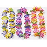 Amazon Price History for:Mahalo Floral Leis : package of 12 by Oojami