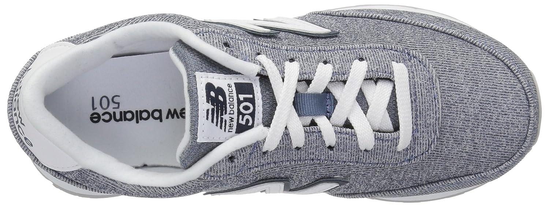 New Balance Women's 501v1 Sneaker B0751R4KFX 13 B(M) US|Deep Porccccccccccccccccelain Blue/Galaxy