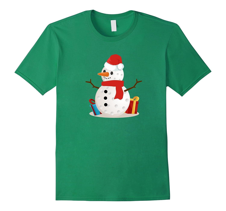Funny Golf Snowman Christmas - Santa T shirt-ANZ