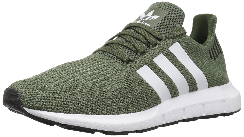 adidas Originals Women's Swift Running Shoe B077XDZSLX 8.5 B(M) US|Base Green/White/Black