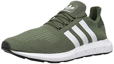 adidas Originals Women s Swift Running Shoe Base Green White Black 5.5 ... b04e87f6424e