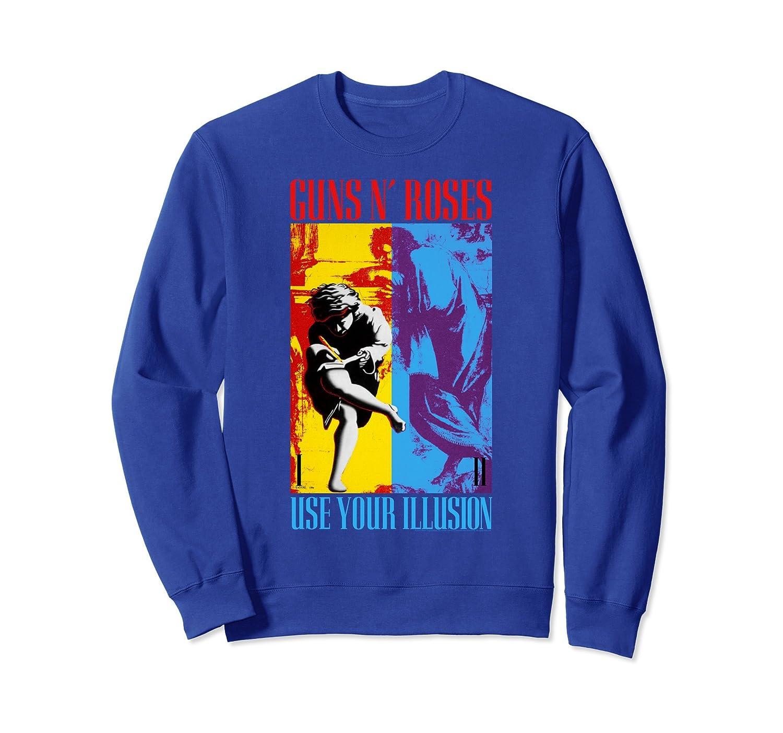 Guns N' Roses Use Your Illusion Split Sweatshirt-fa