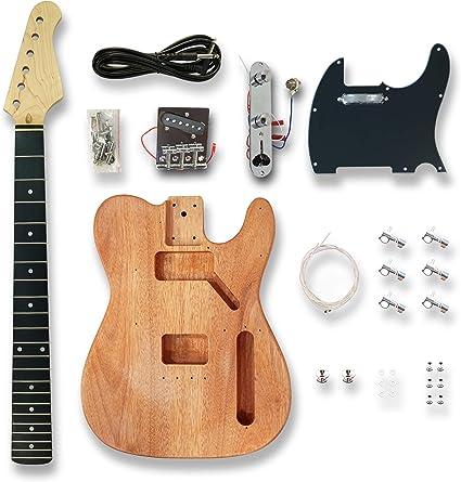 Amazon.com: DIY Guitarra Eléctrica Kits para TL Estilo ...