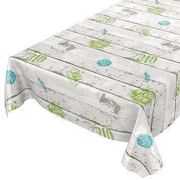 Mantel de hule, lavable, estilo industrial moderno, toalla, sättige, beständige Farben, 120 x 140cm: Amazon.es: Hogar