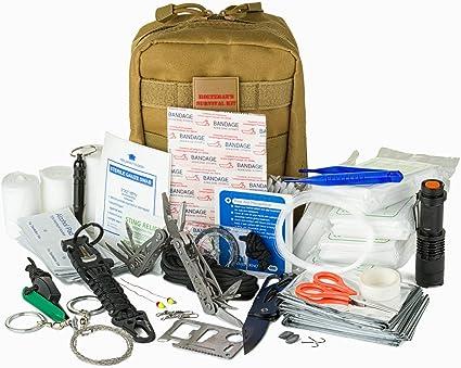 Système universel Tubeless Trail Pince à épiler avec lumière DEL Survival Gear First Aid Kit Bug Out Bag 3 Pk