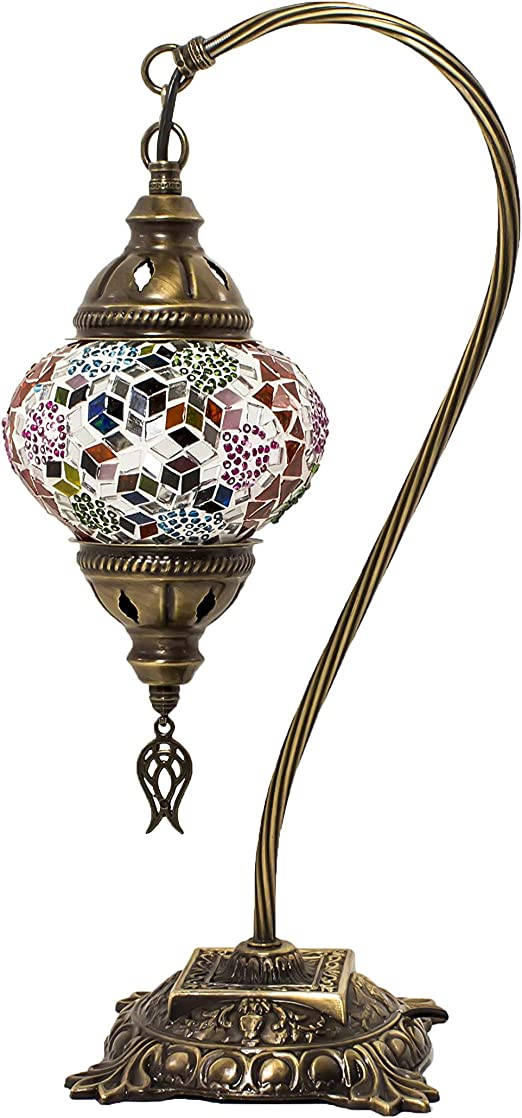 Swan Neck Table Lamps – Istanbul Bazaar