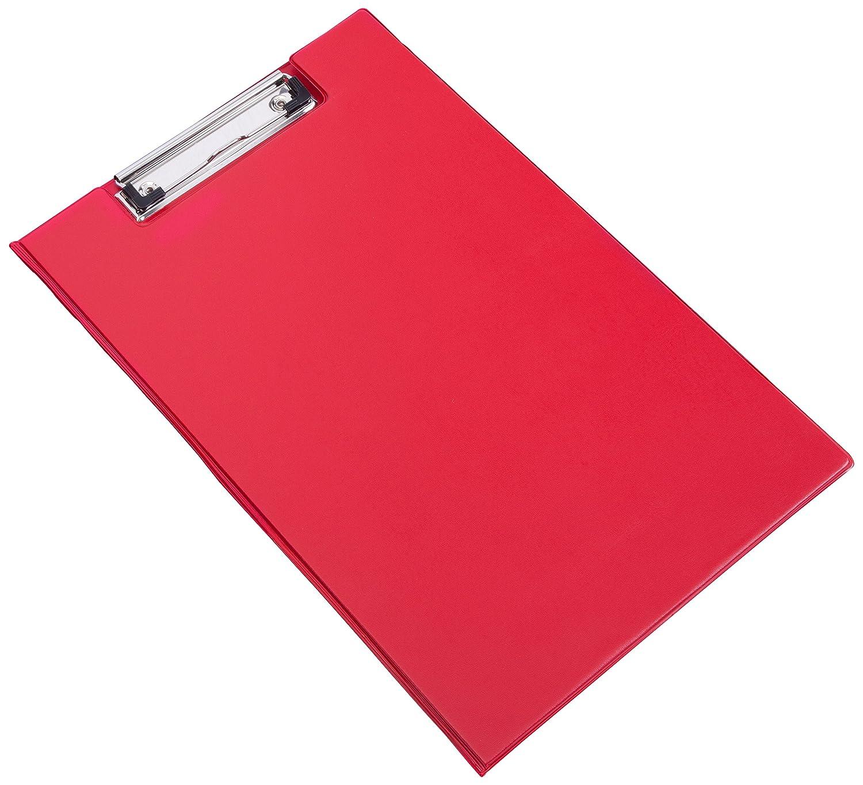 Rapesco Appunti Fold Over con tasche e portapenne Foolscap Black ref VFDCB0B3 blau