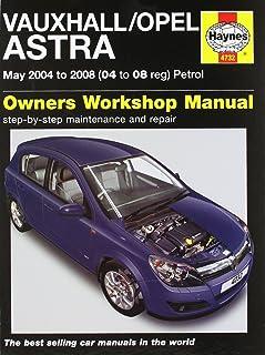 vauxhall astra mk5 h owners manual handbook 2004 2010 3 5 door rh amazon co uk vauxhall astra 2006 owners manual vauxhall astra 2006 owners manual download