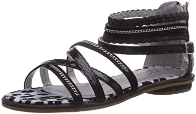 uk availability 8cbc2 3def8 TOM TAILOR Mädchen Römersandalen Sandalen