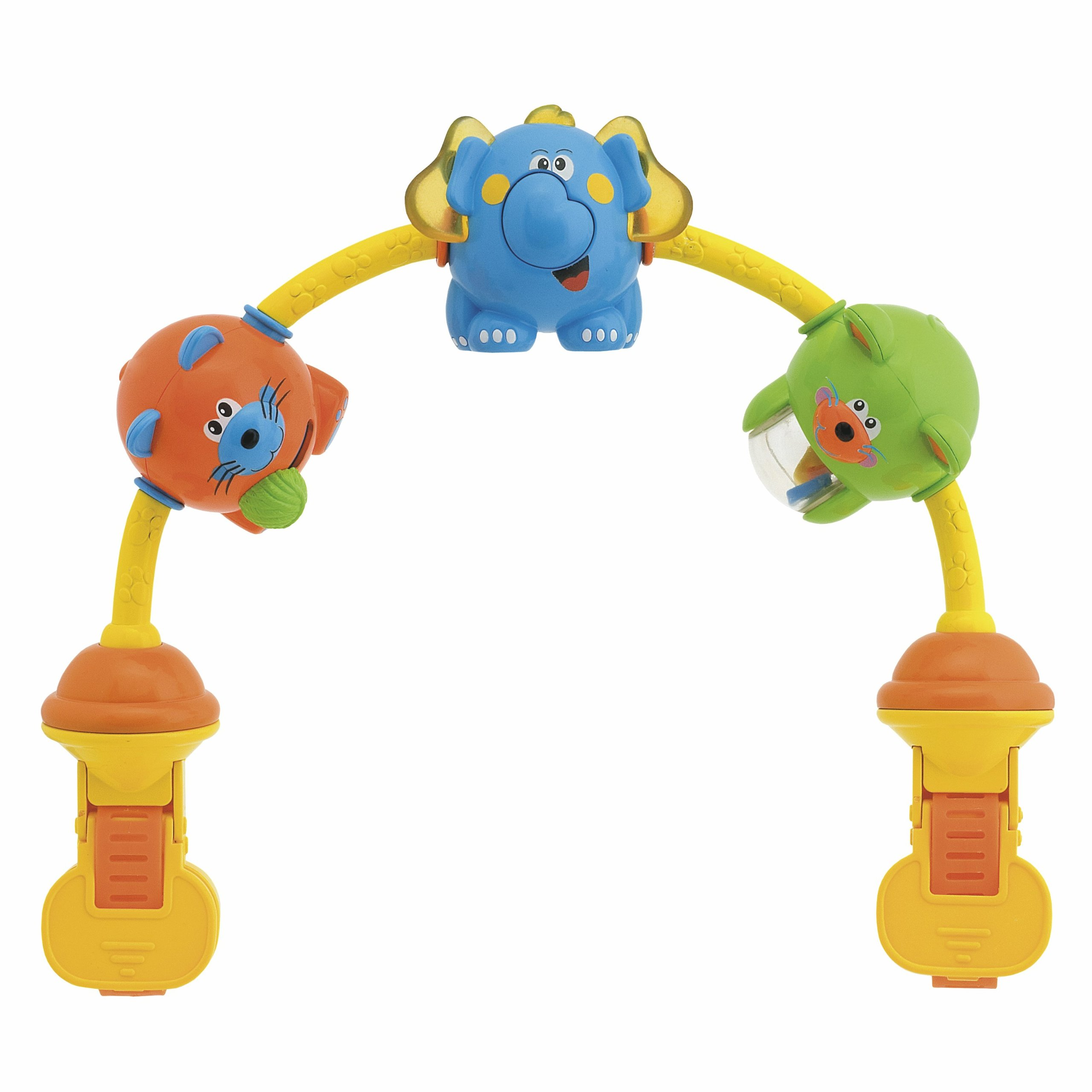 Chicco- 20Cm Dancing Animals Musical Stroller Toy
