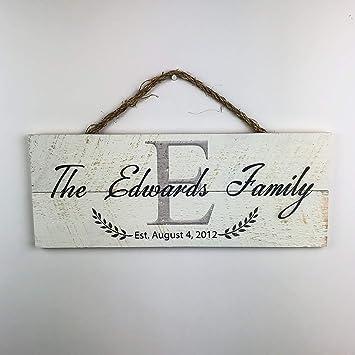 Amazon.com: Artblox - Carteles personalizados de familia ...