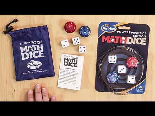 Amazon.com: Math Dice Powers: Toys & Games
