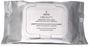 Image Skincare Beauty Refreshing Facial Wipes, 30 Count