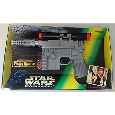 Star Wars Power of The Force Battery Operated Water Blaster: Toys & Games