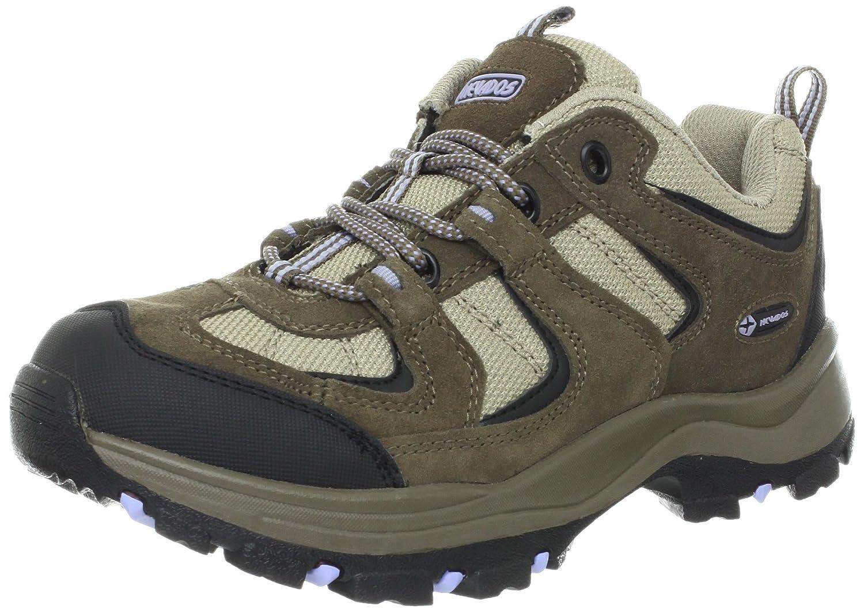 Nevados Women's Boomerang II Low V4088W Hiking Boot B00995GR04 8 W US|Dark Brown/Black/Light Purple