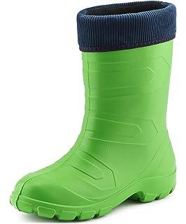 fd2927e4bce Ladeheid Women's EVA Thermo Extra Light Wellington Boots Rainy ...