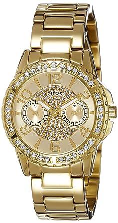 930329449d Guess Femme Analogique Quartz Montre avec Bracelet en Acier Inoxydable  W0705L2