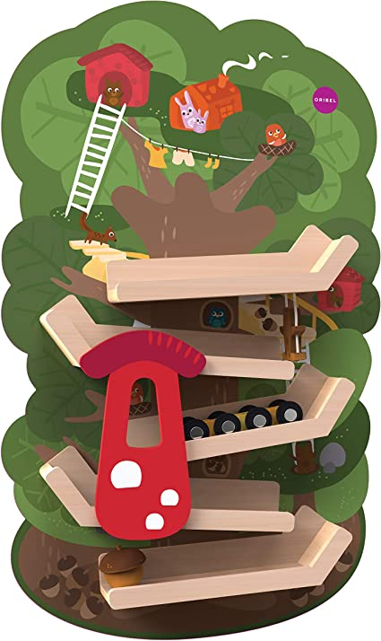 Oribel Vertplay Tree Top Adventure Wood Wall Toys