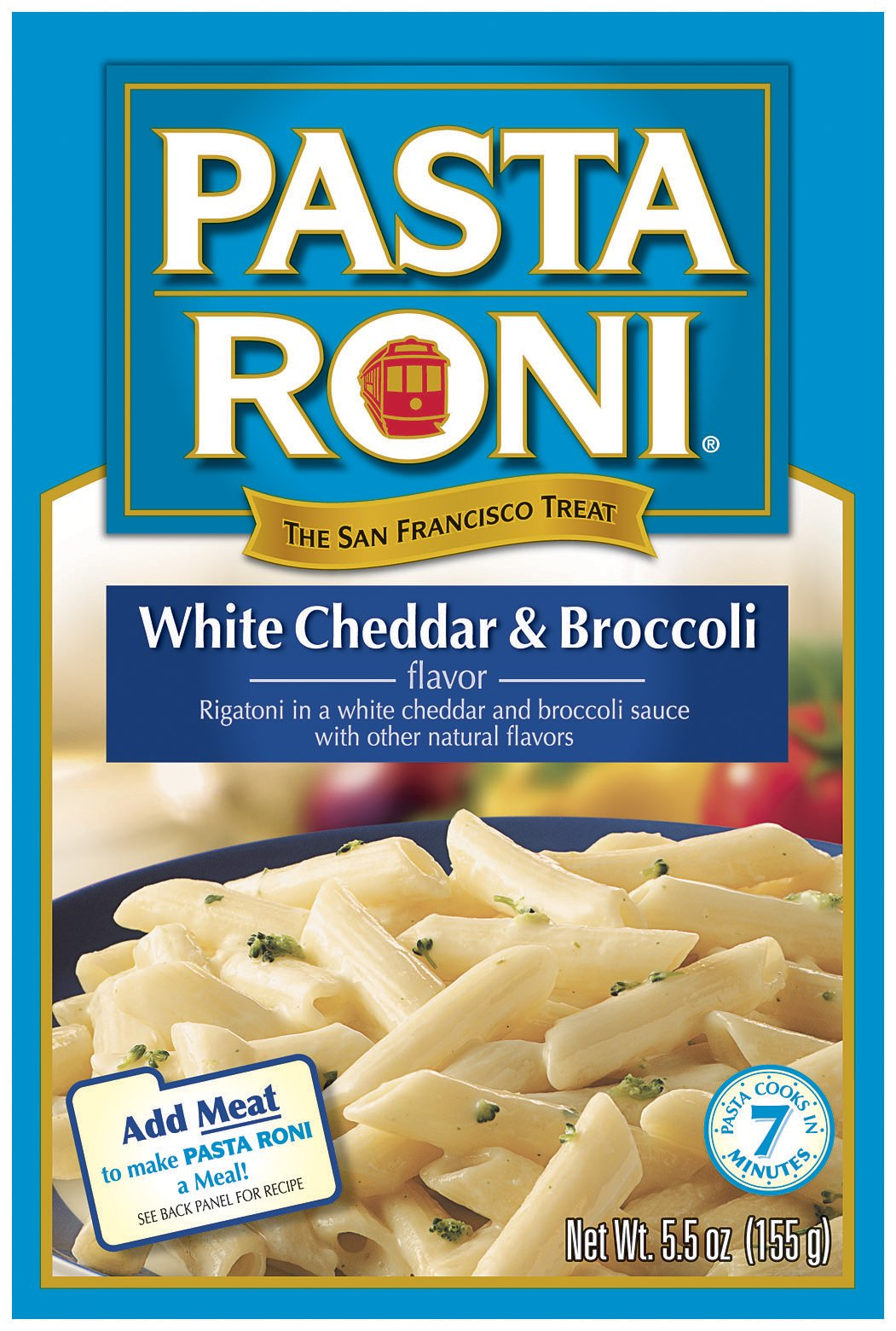 Pasta Roni White Cheddar & Broccoli Rigatoni Mix, 5.5-Ounce Boxes (Pack of 12) by Pasta Roni