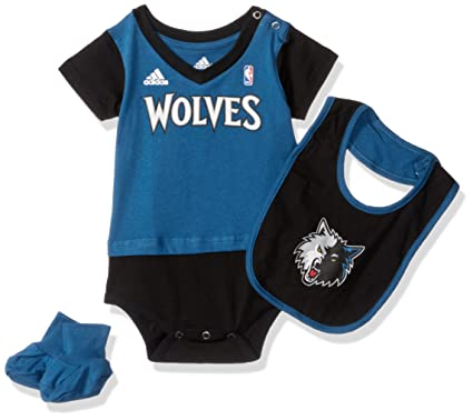 NBA Infant Minnesota Timberwolves Lil Jersey Creeper a118f44b5