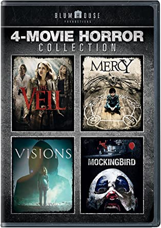 Amazon com: Blumhouse 4-Movie Horror Collection (The Veil / Mercy