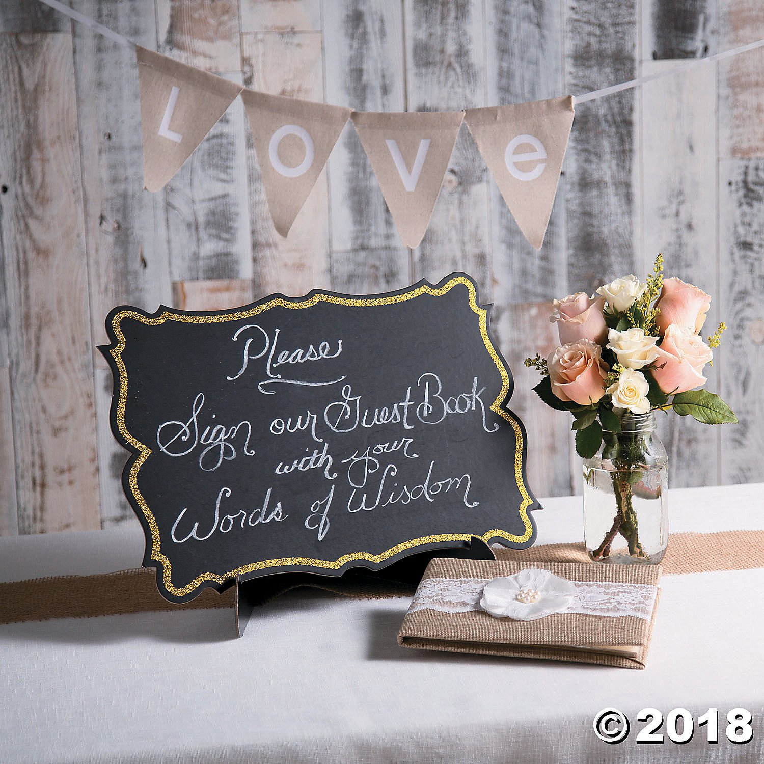 Large Tabletop Cardboard Chalkboard - Cute Write on Decorative Chalkboard with Stand for Restaurants, Kitchen Decor, Holiday Signs