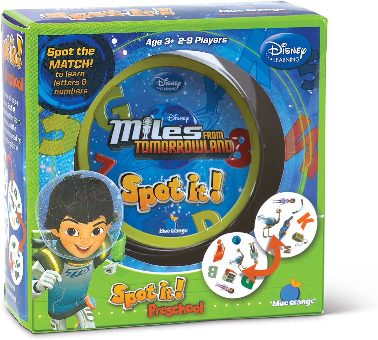 DISNEY MILES from TOMORROWLAND Preschool Matching Card Game Ages 3 EDU-TOYS SPOT IT