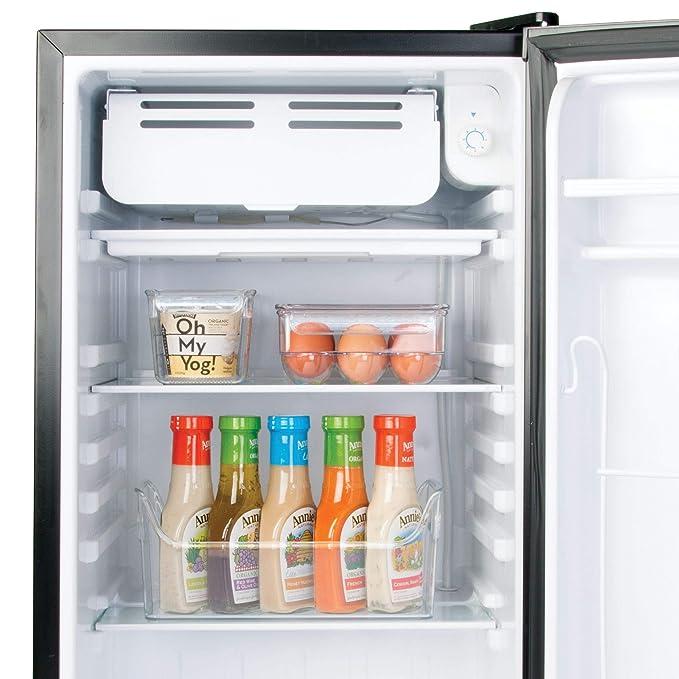 InterDesign Fridge/Freeze Binz Envase para huevos, huevera de ...